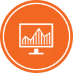 Web Research and Analysis Icon